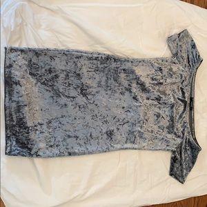 Forever 21 Velvet Crushed Bodycon Dress